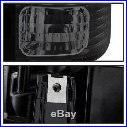 Blk Smoke 1988-1998 Chevy/GMC C10 Suburban Tahoe Yukon Lumileds LED Tail Lights