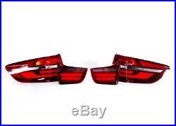 Bmw Oem Black Line Rear Led Tail Lights X6 E71 63212337552