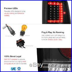 COOL 2009-2018 Ram 1500 C-SHAPE LED Tail Light Black 2010-2018 Ram 2500 3500