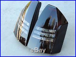 CUSTOM 05-07 Chrysler 300C Smoked Tail Lights OEM Tinted V8 Black non led