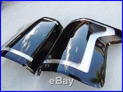 CUSTOM! 2015+ Ford F150 Smoked Tail Lights OEM Non LED Black Tinted Halogen
