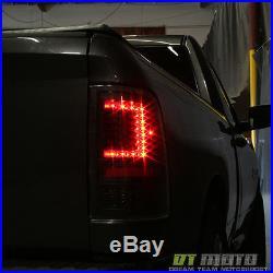 C Strip Design Black 2009 2017 Dodge Ram 1500 2500 3500 Led Tail Lights Lamps