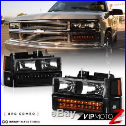 Chevrolet Silverado Crew Extended Smoke LED Tail Light Cargo Headlight CK Series