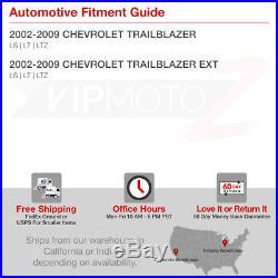 Chevy TrailBlazer 02-09 Black LED Tail Light Signal Brake Lamp Pair LH+RH SET