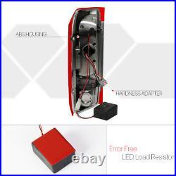 Chrome/RedTRON LED BAR3D Neon Tube Tail Light Lamp for 90-97 F150/F250/Bronco