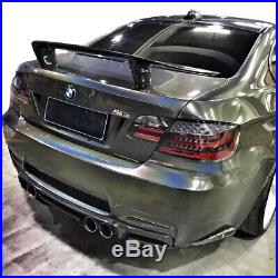 Clear/Black/Red LCI Facelift Style LED Taillights For 07-13 BMW E92 2DR Coupe