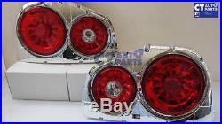 Clear Red LED Tail light for 98-02 Nissan Skyline R34 GTR GTT RB