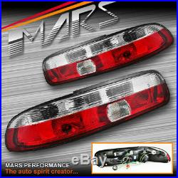 Clear Red Non LED Tail lights for TOYOTA SOARER & LEXUS SC300 SC400 91-01