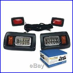Club Car DS Adjustable LED Headlights & LED Tail-Lights Kit 1993 & UP