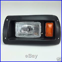 Club Car DS Golf Cart Basic Light Kit, Halogen Headlights withLED Taillights