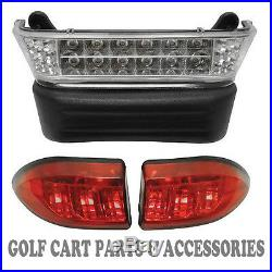 Club Car Precedent Golf Cart LED Headlight & Tail Light Kit (Elec. 2004- 08.5)