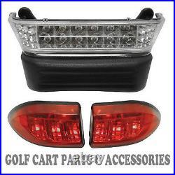 Club Car Precedent Golf Cart LED Headlight & Tail Light Kit (GAS 2004-UP)
