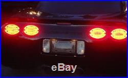 Corvette C5 97-04 LED Tail Lights HALO STYLE