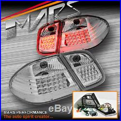 Crystal LED Tail Lights Mercedes-Benz CLK W208 C208 CLK200 CLK230 CLK320 CLK430
