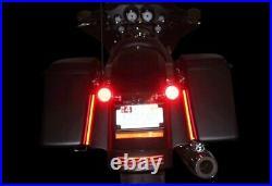 Custom Dynamics 8 Pair Plasma Rods for Harley Davidson Bagger Tail Lights