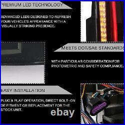 Customized SMOKED LED Tail Lights For 07-14 Yukon Suburban Tahoe Escalade Style