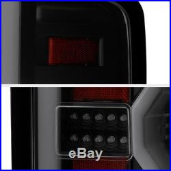 CyCLoP OPTiC TubE 2014-2018 Chevy Silverado BLACK-OUT LED Tail Lights LH+RH
