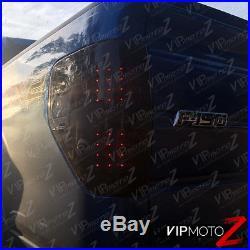 DARKEST SINISTER BLACK 2009-2014 Ford F150 Bright LED Signal Brake Tail Lights