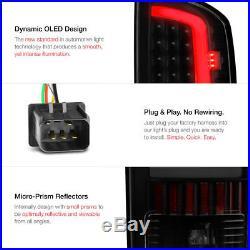 DARKEST SMOKE! 03-06 Dodge RAM 2500 3500 Black LED Parking Brake Tail Lights SET