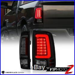 DARKEST SMOKE 2013-2018 RAM 1500 2500 3500 LED Tail Lamps Lights Replacement