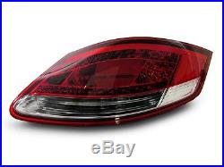 DEPO 2005-08 Porsche Boxster & Cayman 987 LED Red/Clear Rear Tail Lights Set New