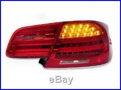 DEPO 2007-2010 BMW E92 2D Coupe LCI Amber LED Signal Rear Tail Lights M3 4PCs