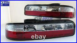 DMAX Clear Red LED Tail Lights for Nissan Silvia S13 CA18DET SR20DET LED