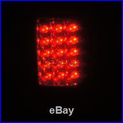 Dark Smoke 09-17 Ram 1500 2500 3500 Glossy Black Brake Lamps LED Tail Lights