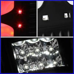 Dual Led C-tube Barfor 04-08 Ford F150 Lobo Tail Light Rear Brake Lamps Black