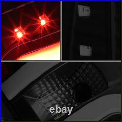Dual Led C-tube Barfor 09-14 Ford F150 Tinted Housing Tail Light Brake Lamps