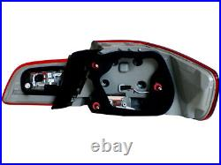 E92 LCI Facelift Update LED Taillights 07-13 BMW E92 2Door-Dark Red Amber Signal