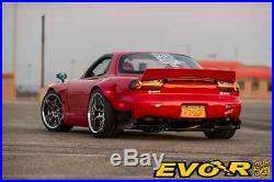 EVO-R Mazda RX-7 FD3S RX7 LED Tail Lights DEPO Center Left Right 3 Pieces Rotary