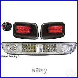 EZGO TXT LED Headlight and Tail Light Light Bar Kit