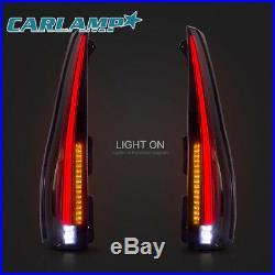 Escalade Style LED Tail Lights For GMC Yukon & Chevrolet Tahoe Suburban 07-14