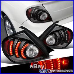 Euro Black 03-05 Dodge Neon SRT4 LED Parking Lamps Tail Rear Brake Lights DEPO