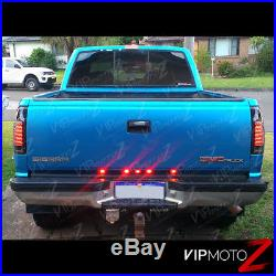Exclusive 88-98 Chevy GMC C/K Pickup Dark Smoke LED Rear Tail Lights Assembly