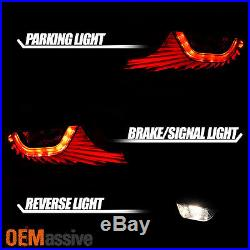 Exclusive Black 2003 2004 2005 G35 Skyline 35GT 2 Door Coupe LED Tail Lights