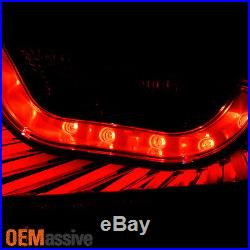Exclusive Black Smoked 2006 2007 G35 2 Door Coupe Skyline 35GT LED Tail Lights