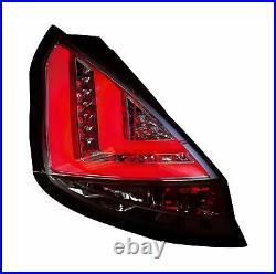FORD FIESTA MK7 Pre Facelift (2009-2012) CHROME LED LIGHT BAR REAR TAIL LIGHTS