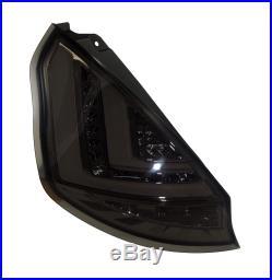 FORD FIESTA MK7 Pre Facelift (2009-2012) SMOKED LED LIGHT BAR REAR TAIL LIGHTS