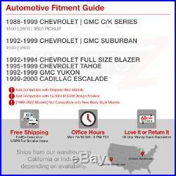 FULL SMD REVERSE LED Tail Lights 88-98 Chevy GMC Silverado Sierra Tahoe Yukon