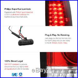 Factory Style Upgrade! Suburban Tahoe Silverado Red LED Tail Light+Headlight