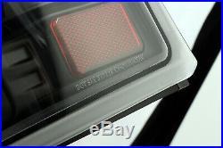 Fit 1999-2002 Chevy Silverado/1999-2006 GMC Sierra Black LED Tail Lights
