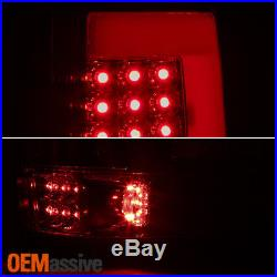 Fit 2004 2005 2006 2007 2008 Ford F150 F-150 LOBO LED Tube Smoked Tail Lights
