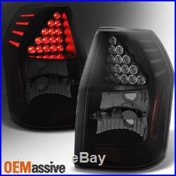 Fit 2005 2006 2007 2008 Dodge Magnum Black Smoked LED Tail Lights Replacement