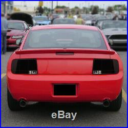 Fit 2005-2009 Mustang LED Sequential Signal Tail Lights Brake Lamps Red/Smoke