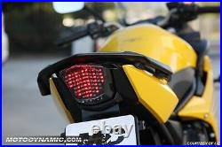 Fit 2009-2017 Yamaha FZ6R FZ6-R XJ6 SMOKE Integrated Turn Signal LED Tail Light