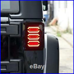 Fit For Jeep Wrangler JK 2007-2017 LED Rear Lamps Tail Lights Accessories 2PCS