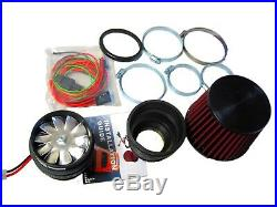 Fit For Toyota TRD Performance Electric Air Intake Supercharger Fan Motor Kit