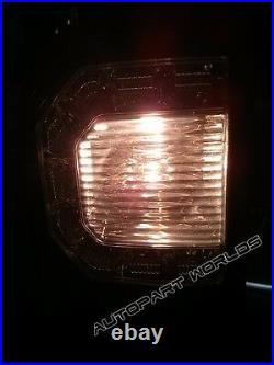 Fit Toyota 05-15 Hilux Vigo Sr Mk7 Kun Tgn Tail Light Tail Lamp Led Smoke Black
